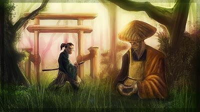 monk and samurai